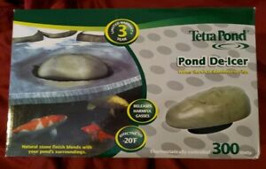 TetraPond Pond De-icer, Thermostatically Controlled, 300-Watts New & Ships Free