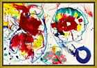 Framed Sam Francis Untitled 10 Giclee Canvas Print Paintings Poster Reproduction