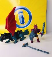 Rare Vintage Imaginext Ivan the Dragonsmith!! These Set Is Complete!! B9252