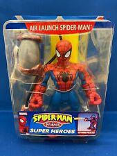 Spider-Man and Friends Super Heroes Air Launch Spider-Man Toy Biz New Rare HTF