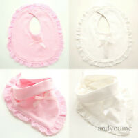 Newborn Toddler Lace Cotton Baby Bibs Boy Girl Saliva Towel Kids Bib Feeding Hot