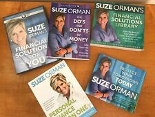 Suze Orman Financial Solutions Library Protect Your Tomorrows Today NEW 4 pc Set