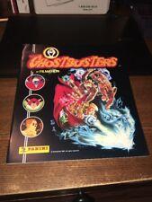 Vintage 1987 Ghostbusters Cartoon Animated Panini Sticker Album Book Unused New