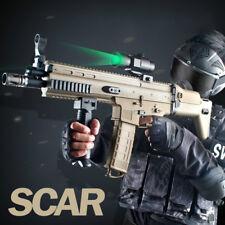 JM SCAR Electric Water Bullet Mag-Fed Gel Ball Submachine Gun Kids Toy