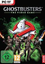 GHOSTBUSTERS-IL VIDEO GIOCO PC IN DVD guscio con Manuale Compl. tedesco.