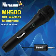 More details for mr entertainer karaoke mh500 uhf wireless microphone with mini receiver