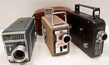 3 CAMERAS KODAK  - TBE   - 8 mm -  1933 /1964