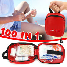100 In 1 SOS Emergency Survival Equipment Kit Outdoor Camping Picnic Survive Bag