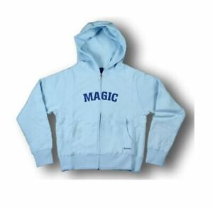 Reebok NBA-4-Her Junior Women's Orlando Magic Glam Hoodie Hooded Sweatshirt