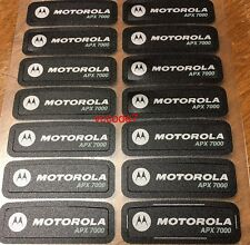 Motorola APX7000 Nameplate sticker label OEM