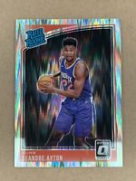 2018-19 OPTIC Shock Prizm Deandre Ayton Rookie RC #157, RATED ROOKIE Refractor