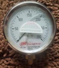 Ingersoll Rand Pressure Gauge 0-300 PSI