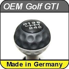 OEM VW Golf MK5,6, Jetta, Eos, Scirocco Retro Golfball  Gear Knob Shift 6 Gears