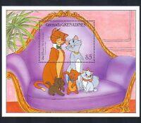 Grenada Grenadines 1988 Disney/Cats/Films/Cinema/Animation/Cartoon 1v m/s d00225