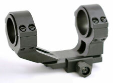 Hammers Flat Top HIGH One Piece Offset Double Ring Mount Picatinny 30mm 1inch
