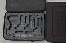 MICROPHONE CASE FOR SHURE BETA 52A SM57 A56D NEW drum dmk mic