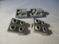 LEGO LIGHT GREY  2 x 2 MODIFIED PLATE WITH PIN HOLE  PART 2444