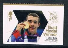 GB 2012 Paralympics Gold Medal Josef Craig 1v  MNH