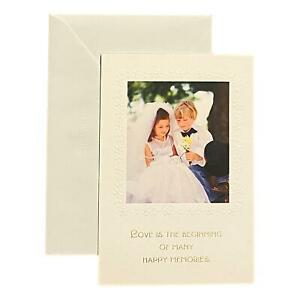 Wedding Greeting Card for Loved Ones, Family and Friends - Love is the Beginning