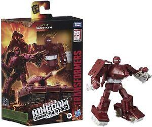 Transformers War for Cybertron: Kingdom Warpath Deluxe Generations Figure NEW