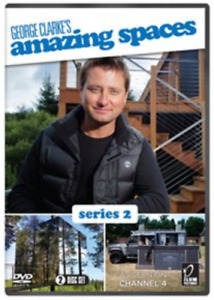 George Clarke's Amazing Spaces: Series 2 DVD NEW