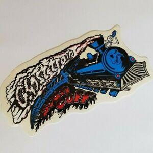 DEATH BOX Skateboard Sticker - Sean Goff  Ghost Train  80s Old School