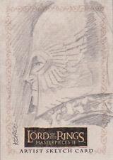 2008 LOTR LORD RINGS MASTERPIECES 2 SKETCH CARD LEE KOHSE