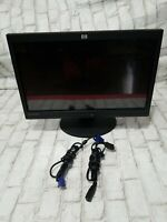 """HP L2105TM 21.5"""" 1080p Touchscreen Monitor 1920x1080 With Power Cord And VGA"""