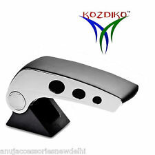 Kozdiko Black Chrome Round Armrest For Ford Figo New (2015-Present)