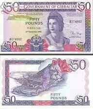 Gibraltar- 1986 £50 Banknote (UNC)
