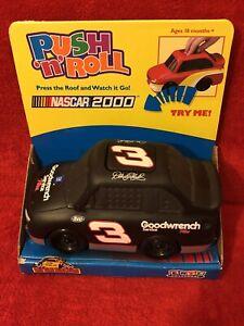 Ertl DALE EARNHARDT SR. Push N Roll Little Racers NASCAR 2000~ #3 Toy Car NEW