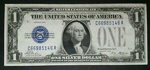 1928 $1 Blue Seal Funnyback Silver Certificate
