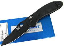 Benchmade Griptilian 550BKHG AXIS Folding Knife Black Nylon Handles New