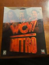 WCW Nitro Video Game Moving 3D Placard