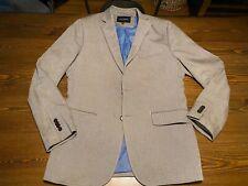 Banana Republic Cotton Khaki Tweed Blazer 40R