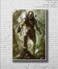 P-475 Art Alien vs Predator 3 Movie LW-Canvas Poster - 21 24x36in