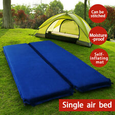 Self Inflating Air Bed Sleeping Mattress Mat Suede For Outdoor Hiking Camping AU