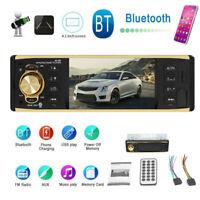 "4.1"" 1DIN Car Stereo Video MP5 Player Bluetooth FM Radio AUX USB TF Head Unit"