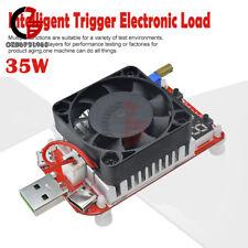 35W QC3.0 LED Display USB Intelligent Electronic Load Tester W/ Thermostatic fan