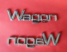 Emblème Plastique Chrome Wagon pour Alfa Romeo