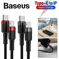 Baseus 8 Pin to Type-C Port Quick Charge 18W 480Mbps Charger Cable for iPhone
