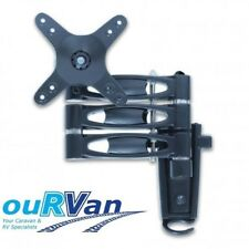CAMEC 042164 RV Media LCD TV Mount 3 Arm 15kg Rated Supplied With 2 Bases...