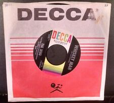 The WHO Whiskey Man Happy Jack Original 45 DECCA Label with sleeve
