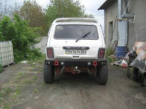 Rear Power bumper Lada Niva 2121 4x4 Urban 21214 with rear lights