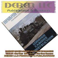 1975 November Narrow Gauge & Short Line Gazette Magazine-Used Free USPS Mail