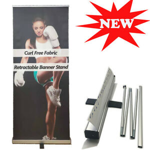 """24""""x72"""" Standard Retractable Roll Up Pop Up Banner Stand Business Display"""