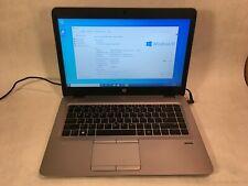 "HP EliteBook 745 G3 14"" Laptop AMD A8-8600B 1.6GHz 8GB RAM 180GB SSD Windows 10"