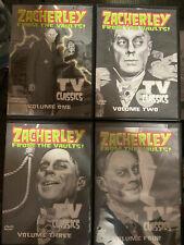 Horror Host DVDs Halloween Famous Monsters Zacherley Morgus Elvira Dr. Shock