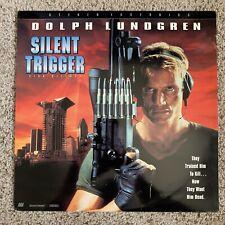 Silent Trigger (aka Sniper) Laserdisc - Dolph Lundgren - VERY RARE US VERSION