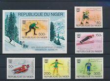LO17517 Niger sports olympics fine lot MNH